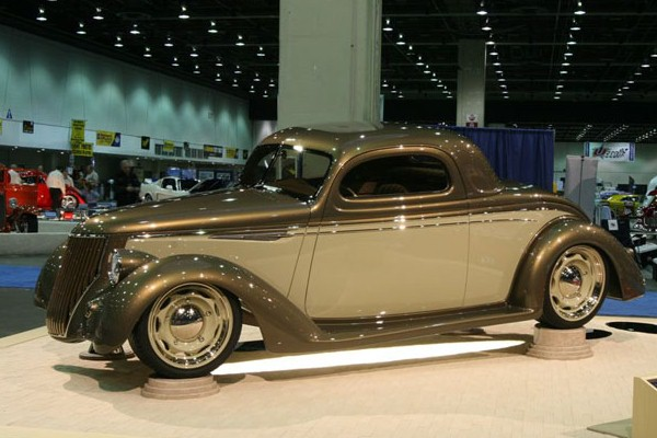 2007 Ross and Beth Myers 1936 Ford Coupe First Love