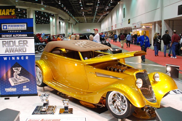 2010 Tammy Ray 1933 Ford Phaeton Gold Digger