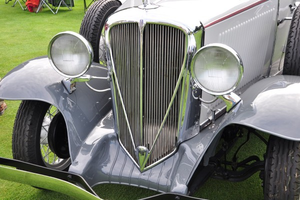 1932 Studebaker Rockne Deluxe Roadster Gary St. Amour grille