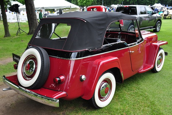 1950 Willys-Overland Jeepster Chrysler Historical Collection