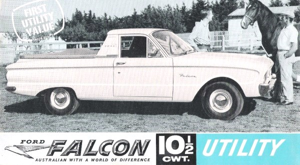 Ford celebrates 80 years of the ute mac 39 s motor city garage for Garage ford peronne 80