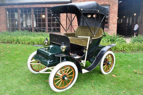1903 Columbus Electric Peter Fawcett   Mac's Motor City Garage